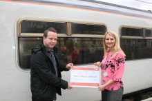 Final train ride nets hospice over £6,000 from Thameslink