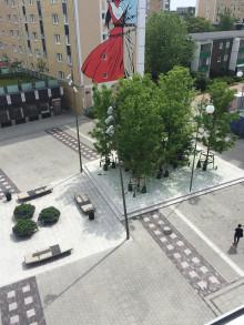Invigning av Holma torg och konstverket Kaninkärlek