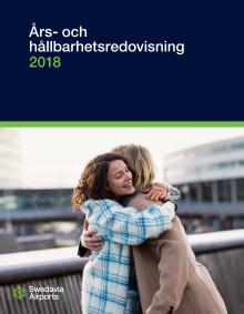 Swedavias års- och hållbarhetsredovisning 2018