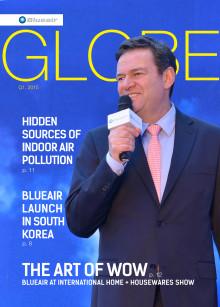 Blueair Globe Magazine, Q1 2015