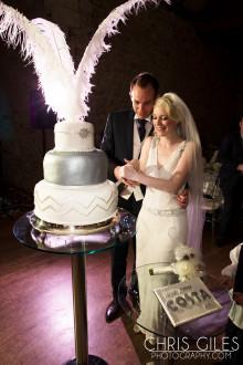 Costa create World's first three tiered Raspberry & Almond Bake Wedding Cake!