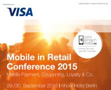 Visa Europe Hauptsponsor der Mobile in Retail Conference 2015