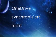 """Hier finden Sie die Lösung für das Problem """"OneDrive synchronisiert nicht"""""""