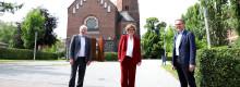 """Bischöfin Hofmann besucht Hephata: """"Begegnung mit bekannten Themen an einem neuen Ort"""""""