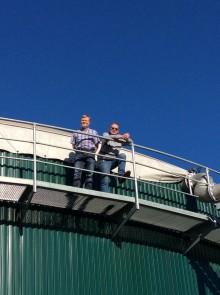 Klimaschutz vor Ort: 100 Millionen kWh Strom durch  Biogasanlage von Energieservice Westfalen Weser in Kirchlengern