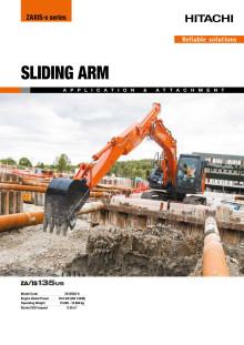 Broschyr_Delvator_Hitachi_ZX135US-6 Sliding arm