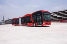 De første batterieelektriske bussene på vei til Oslo