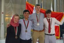 NEXT-elev får bronzemedalje ved OL i biologi
