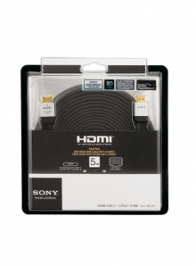Nuevos cables HDMI de Sony de alto rendimiento con soporte 3D y Ethernet