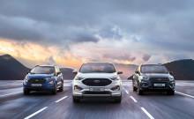 Ford med rekordhøyt SUV-salg i Europa