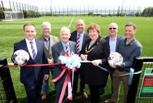 Kick-off for Greenisland's new £800k 3G pitch