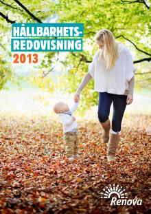 Renovas hållbarhetsredovisning 2013