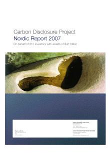 CDP5 Nordisk rapport