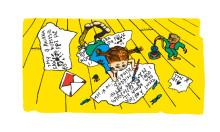 Pippi Långstrump och Rädda Barnen i samarbete för barn på flykt