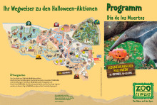 Programm: Halloween im Zoo