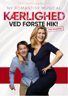 Oliver Bjerrehuus og to stortalenter får store roller i  KÆRLIGHED VED FØRSTE HIK! – THE MUSICAL