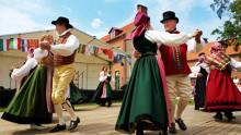 Nationaldagen på Fredriksdal