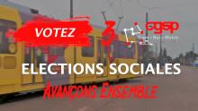 CGSP TBM - Elections sociales 2020 - Votez 3