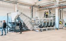 Idrifttagning central skärvätskereningsanläggning