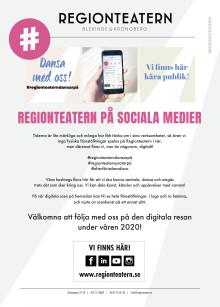 Regionteatern Blekinge Kronoberg satsar digitalt