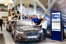 Ford lanserer «Smart Lab» med mulighet for prøvekjøring på kjøpesenter