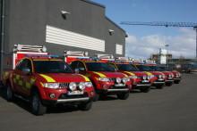 Räddningstjänsten väljer Mitsubishi