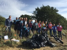 Fred. Olsen holds first-ever 'Beachwatch' event, in support of 'The Great British Beach Clean'