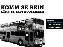 BERLINALE SOCIAL BUS: Komm Se rein - könn Se rausmoderieren