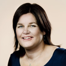 Karina Lorentzen, formand for Folketingets Retsudvalg med i Dækrazzia aktion