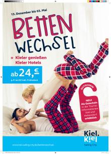 Auszeit in der eigenen Stadt - Bettenwechsel in Kiel