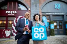 Costa Coffee and Co-op open the doors on Weatherfield stores as landmark partnership gets underway on Coronation Street