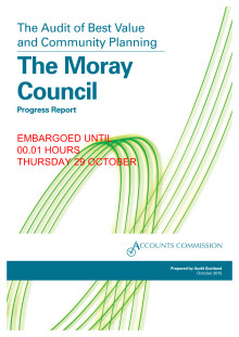 Accounts Commission reports on Moray Council's progress
