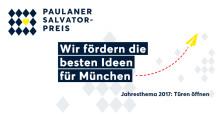 Bewerbungsfrist des Paulaner Salvator-Preises endet in Kürze