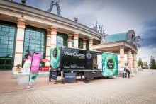 Vision Express sets sights on macular disease with latest Vision Van tour