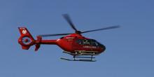 Helikoptern ska snarast tillbaka till Värmdö