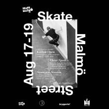 Skateboard i världsklass: Skate Malmö Street 17-19 augusti. Pressträff 16 augusti 15.00.