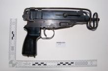 Man pleads guilty after Skorpion machine gun recovered in Brixton