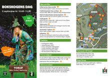 Program Bokskogens dag 3 september 2017