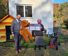 Spenden statt Schenken: Urs Care GmbH unterstützt das Kinderhospiz Bärenherz