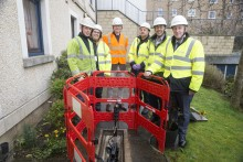John Lamont MP connects with high-speed broadband