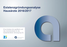 Grafiken: Existenzgründung Hausärzte 2016/2017