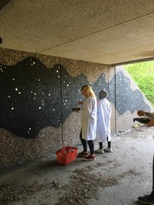 Invigning av Tunnelprojektet vid Fjärdingskolan