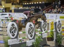 Debut i Scandinavium med finalplats i LFC Jumping Unga Hästar för Matilda Pettersson