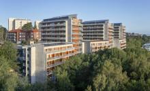 Helgjutet resultat för Riksbyggens klimatförbättrade betong