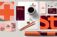 Bokstäver i huvudrollen för Storytels nya visuella identitet