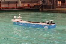 133 millioner til verdens første autonome, hel-elektriske containerskip