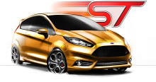 Ford presenterar en Fiesta ST Concept i Frankfurt –   Ger en förhandsvisning av framtida Fiesta i prestandaversion