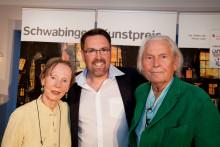 Schwabinger Kunstpreise für Malerin Anita Albus, Designer Ingo Maurer und Musik-Kabarettist André Hartmann!