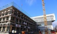 Der Rohbau steht: ZÜBLIN erweitert Konzernstandort in Karlsruhe