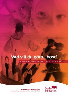 Kurser- och aktiviteter hösten 2015 Studiefrämjandet Stockholms län